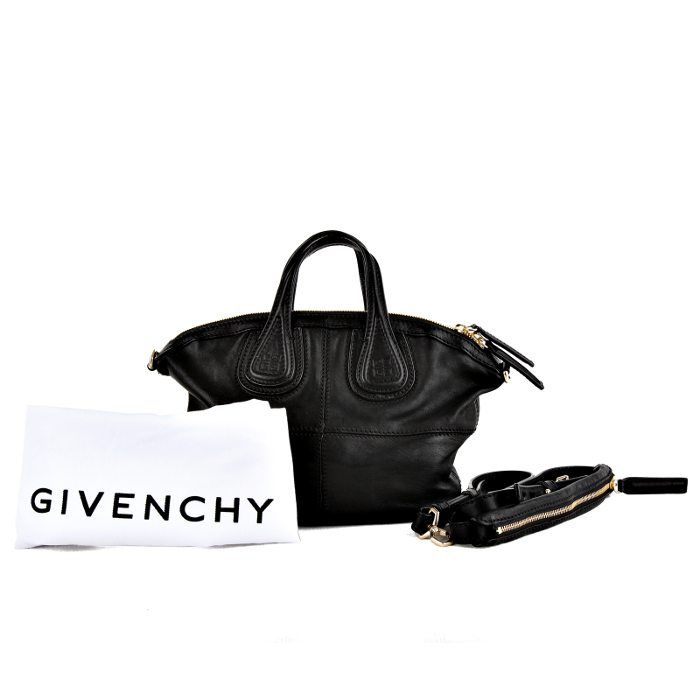 New Givenchy Nightingale Micro Zanzi bag in black leather – LUSSO DOC b0766d764a101