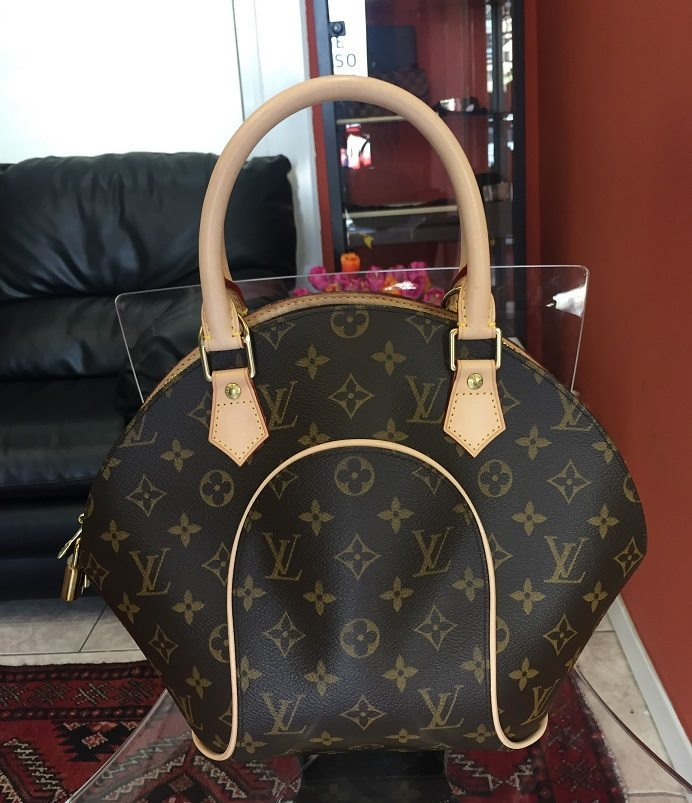 Louis Vuitton LV originale borsa Ellipse PM usata con cura ...