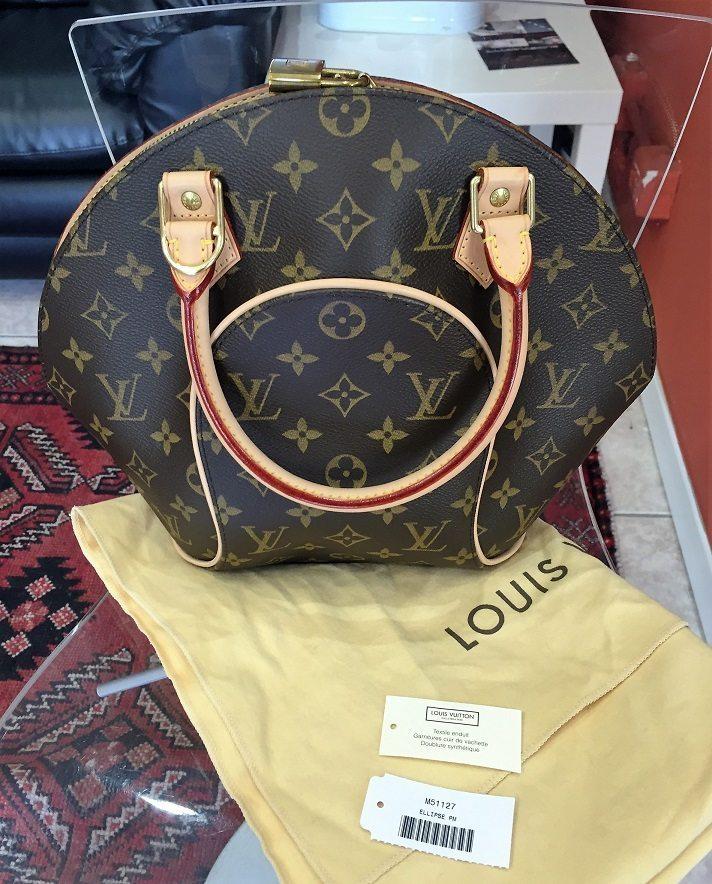 4c34ffa7617d used Louis Vuitton Ellipse PM bag in LV monogram canvas – LUSSO DOC