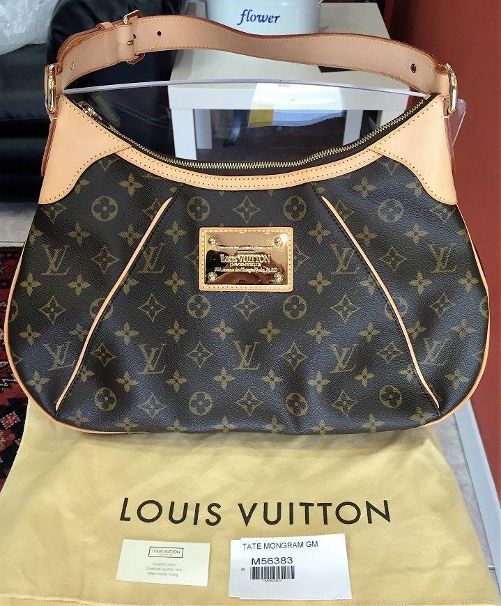 Louis Vuitton Borsa Usata Originale Tate GM Used LV (7 ...