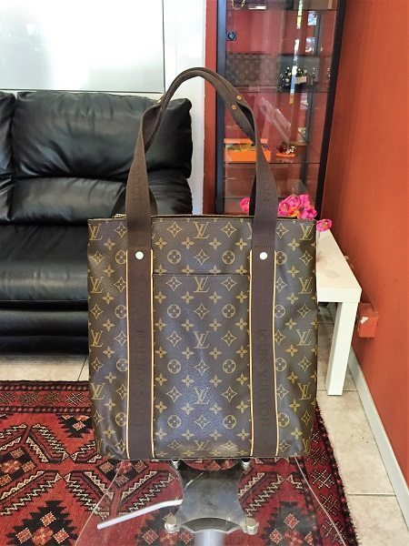 7f47591ee4aa Pre.owned Louis Vuitton Beaubourg Shopper Bag in LV Monogram canvas ...