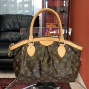 b0dfea56c2f3 ... Pre-owned Louis Vuitton Tivoli PM bag in LV monogram canvas ...