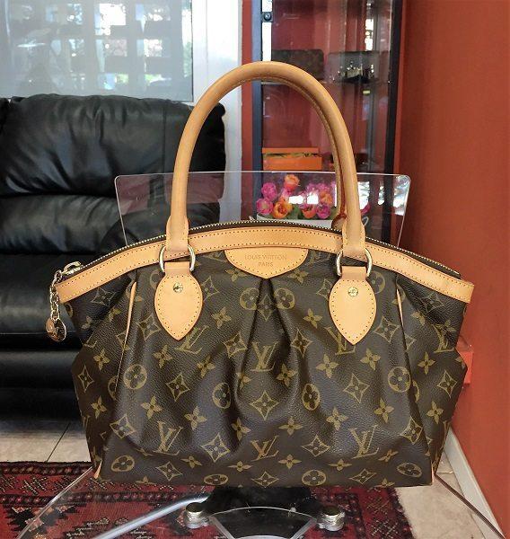 Used Louis Vuitton Bags >> Pre Owned Louis Vuitton Tivoli Pm Bag In Lv Monogram Canvas