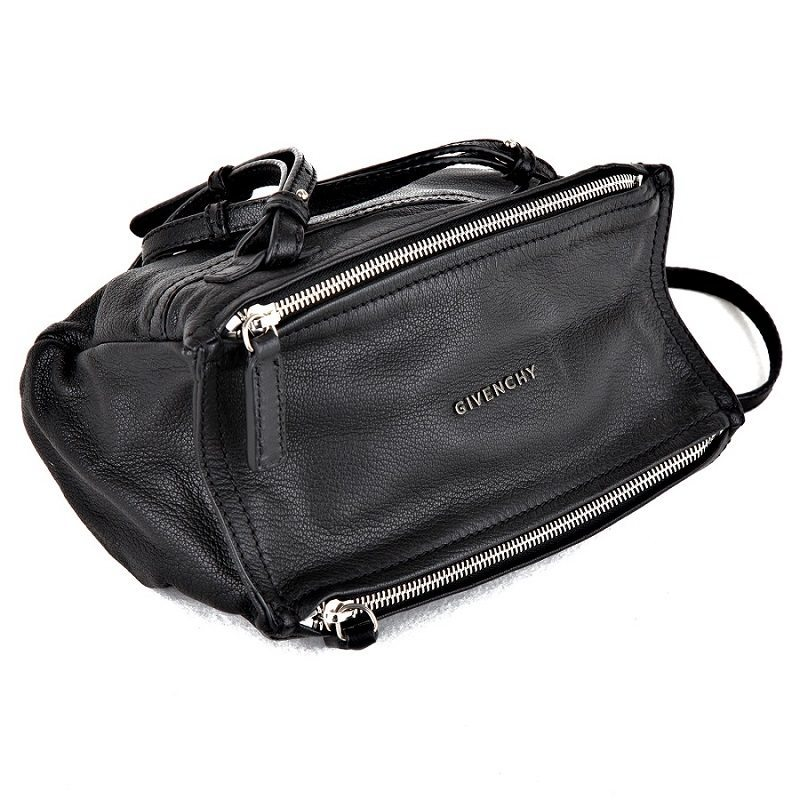 d5dd30b2ed6e New Givenchy Pandora mini bag in black leather
