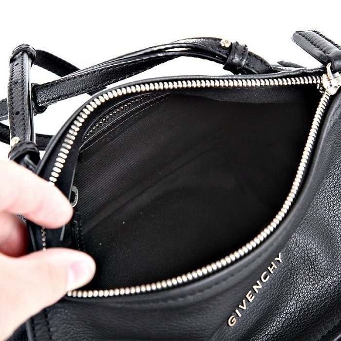 e6edb11b84d New Givenchy Pandora mini bag in black leather,