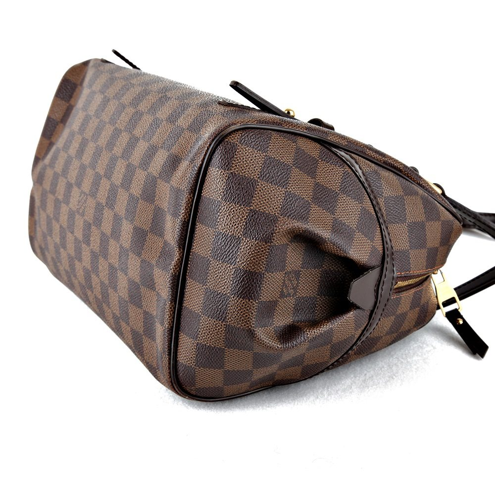 Pre-owned Louis Vuitton Rivington GM in LV Damier Ebene Canvas ... d91c8fe3372