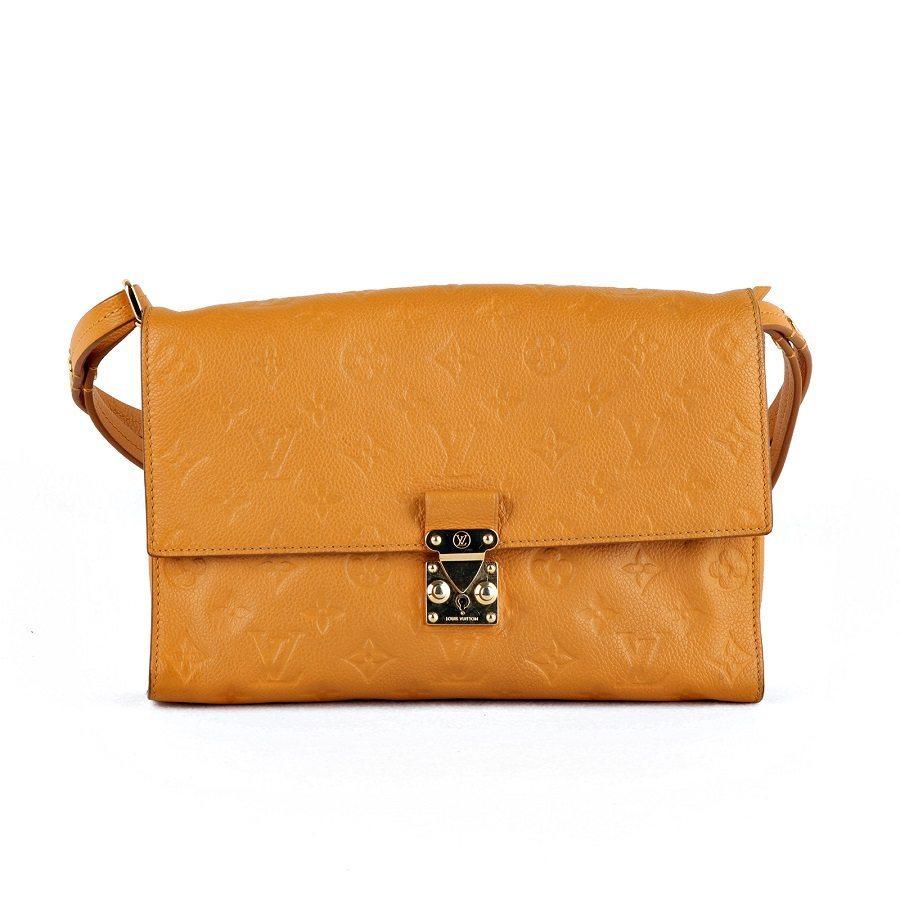 b1e79b9f1737 Louis Vuitton Fascinante Monogram Empreinte Leather Shoulder Bag ...