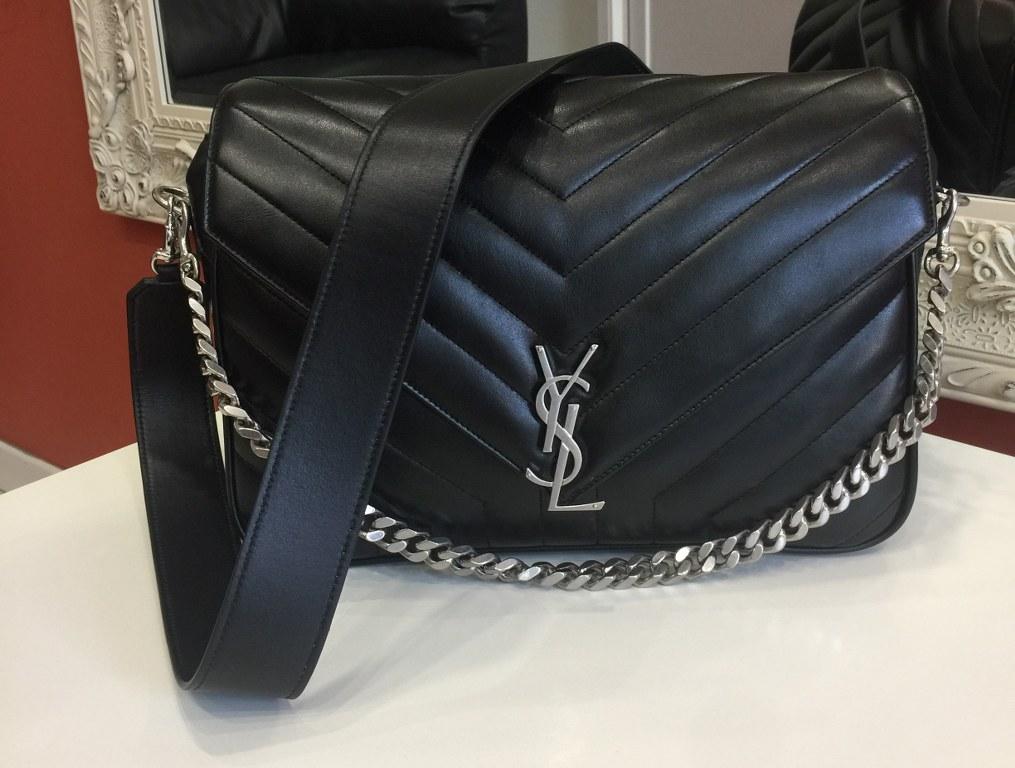 Borsa Firmata Yves Saint Laurent Modello Classic Large