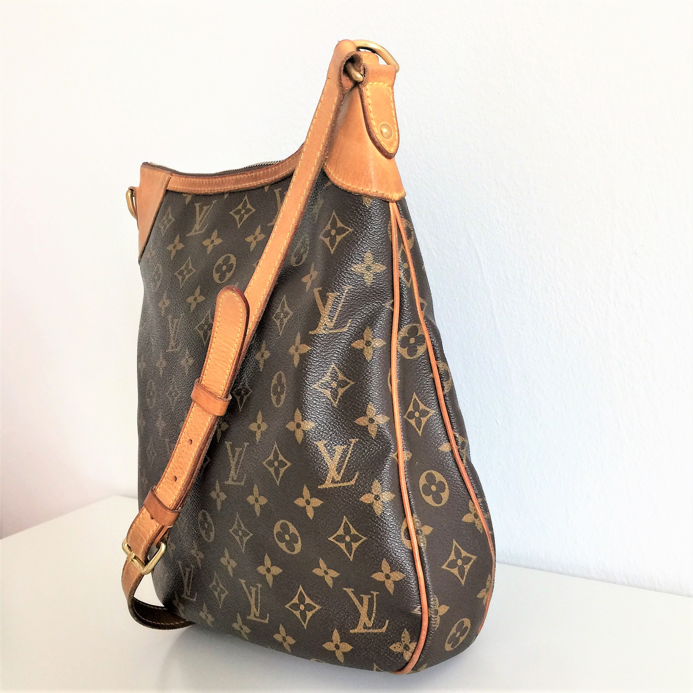 Borsa louis vuitton odeon mm monogram borsa di seconda for Borse usate firmate