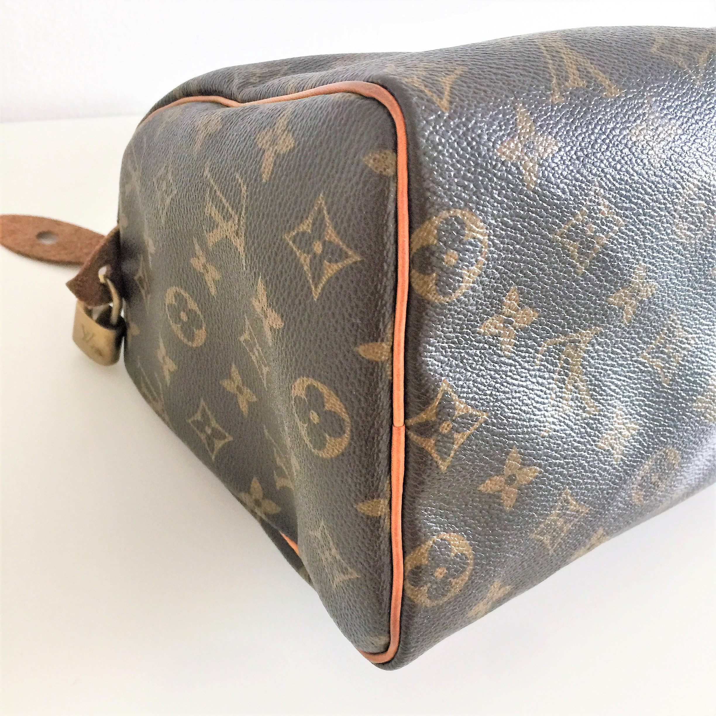 Borse Firmate : Louis vuitton monogram speedy pre owned lv bag in very